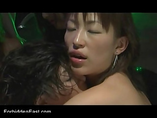 Uncensored Japanese Erotic Fetish Sex Les Rave Pt