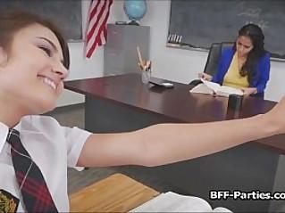 kinky coeds on busty teacher