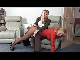 Milf on milf spanking watch her live cam at lesboporn.best