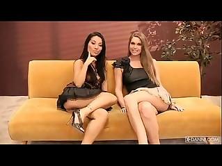 Adrienne manning and asa akira web cam show