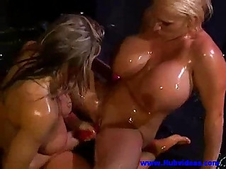 Women wet party