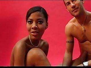 French Black Beauty and her white man